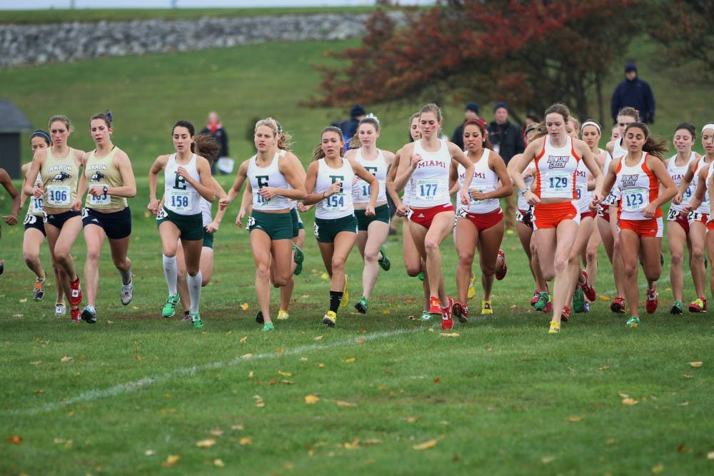 Women's Cross-Country team finishes fourth in the MAC