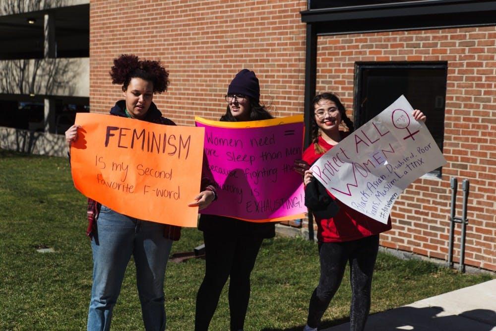 EMU students talk International Women's Day