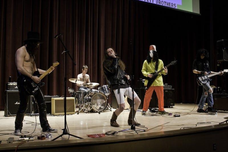 The performances took place Saturday in the Student Center Auditorium.