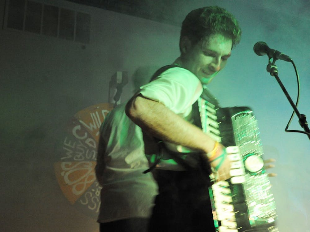 Last Saturday local band Black Jake and the Carnies performed songs at Woodruffs.