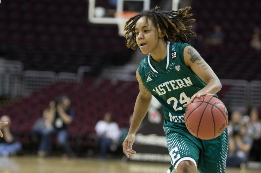 Women's basketball polled to finish first in MAC West