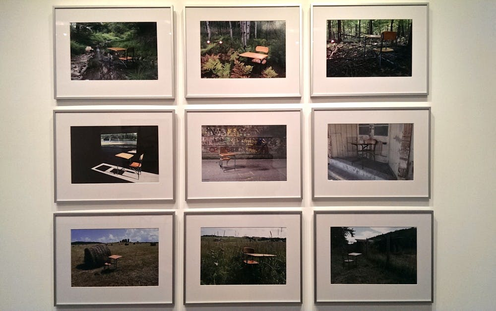 Ford Gallery displays the work of new Art Department faculty
