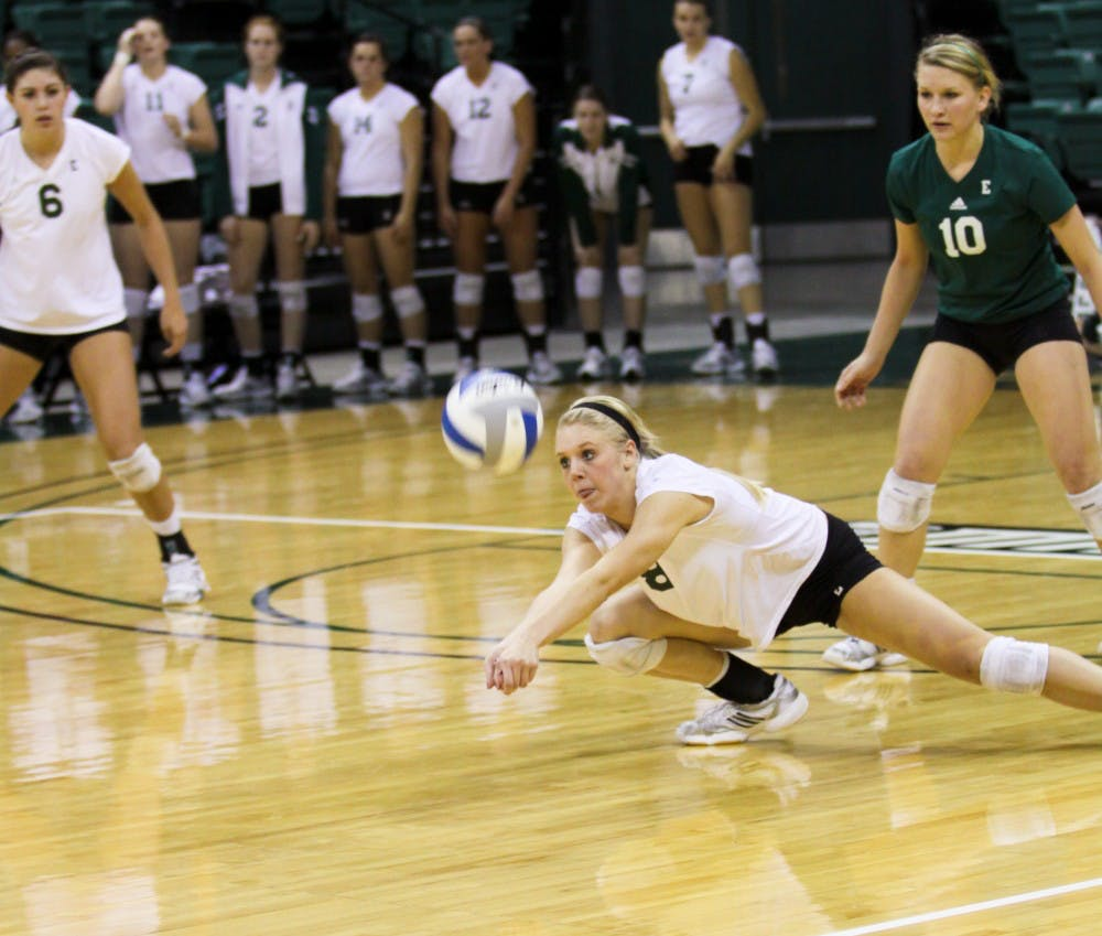 EMU womens volleyball having superb season