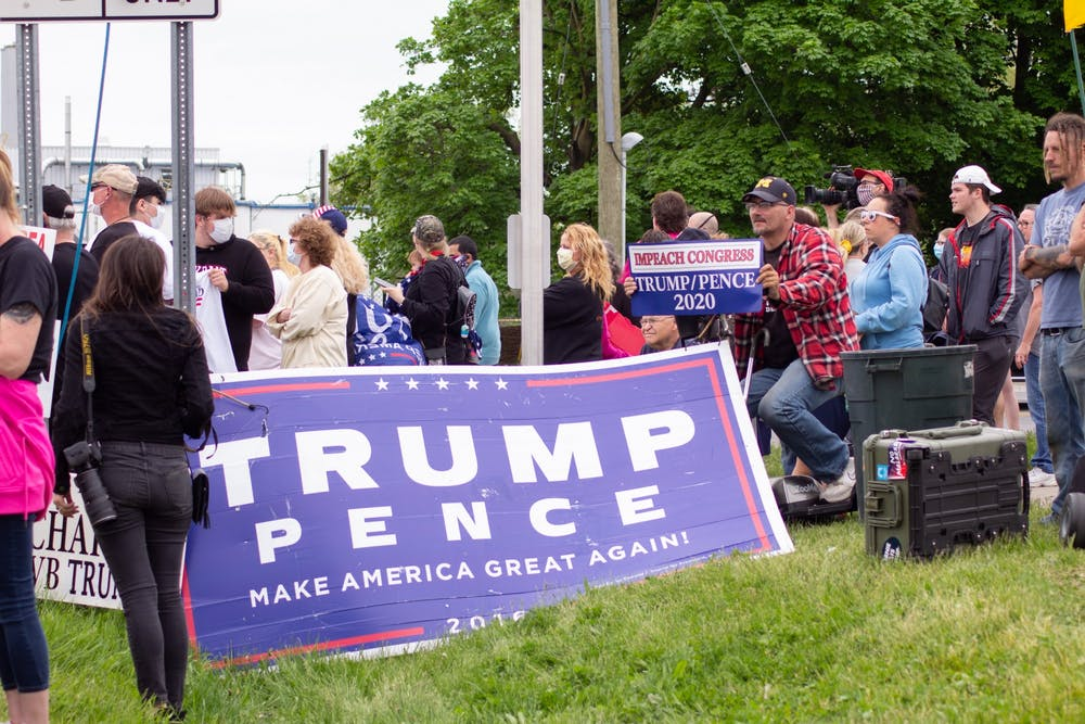 Before Trump's visit to Ypsilanti, top Washtenaw County official asks President to cancel