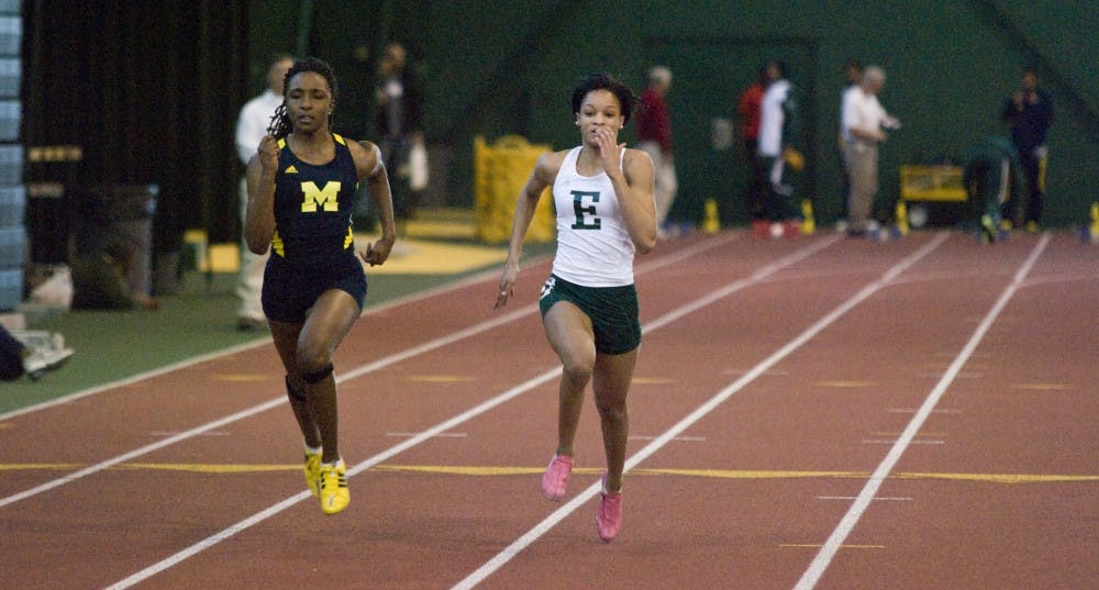 Eastern Michigan's Abraham nearly breaks record in women's 60-meter dash at Bowen