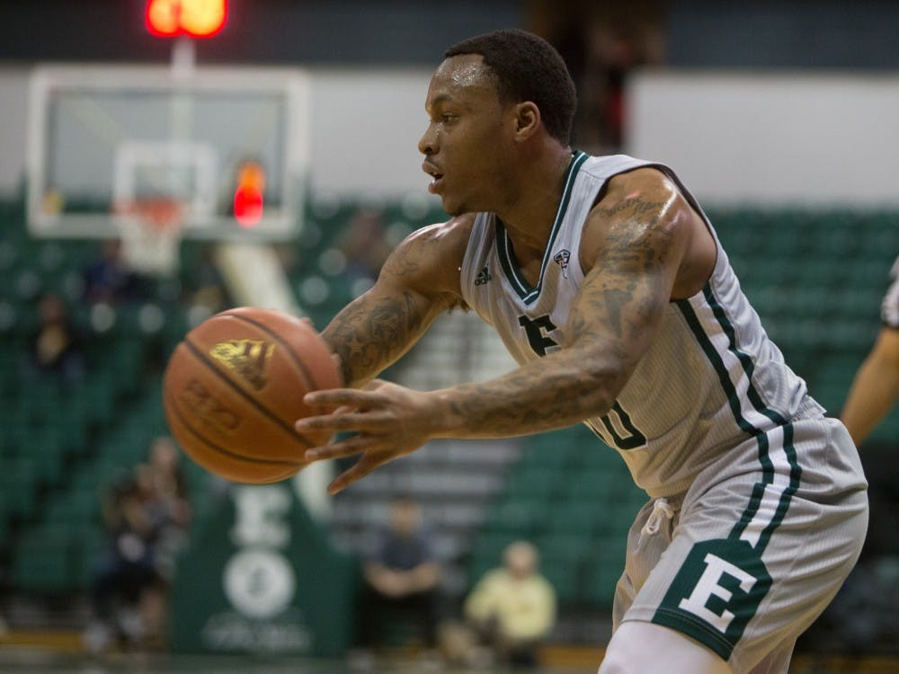 Mangum scores 16 in Eagles win over WMU