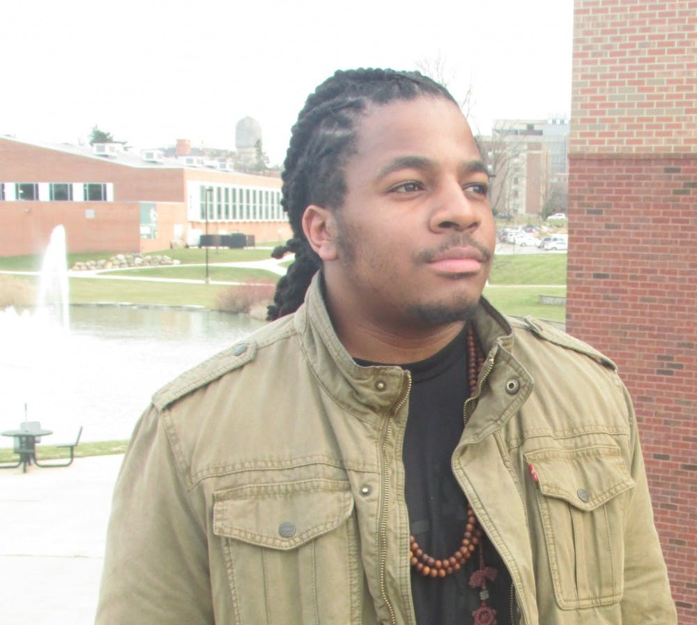 Student activist and poet leads at EMU