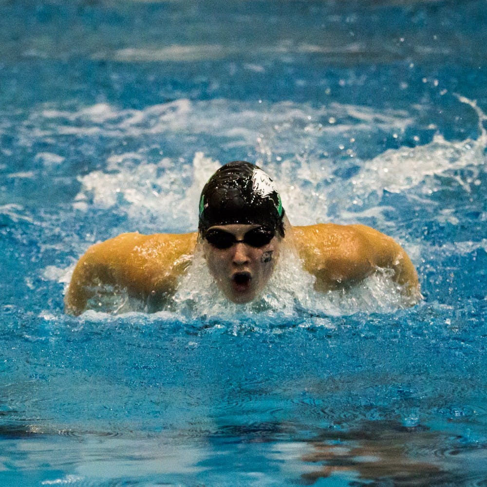 EMU's swim and diving teams hold intrasquad meet