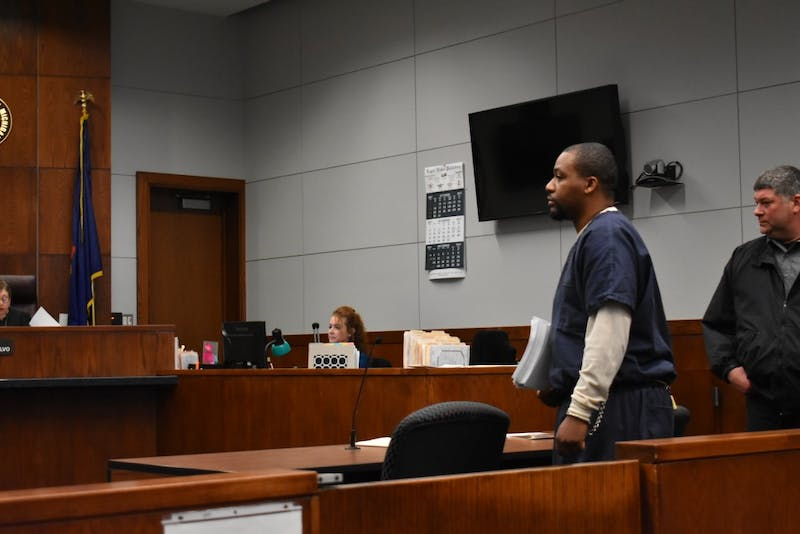 Curlin at his probable cause conference, Nov. 11. The preliminary hearing is scheduled for Thursday, Nov. 30 at the 14a-1 District Court in Ann Arbor.