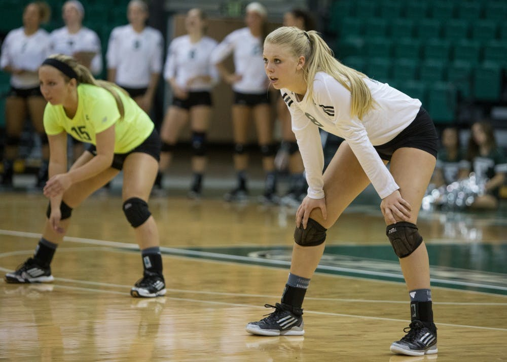 Volleyball moves into conference play