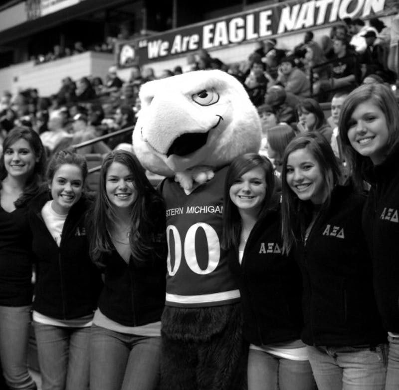 Fifty-nine colleges, not counting varitions, have an eagle as their mascot. Some think Eastern should look into a more region and school-specific mascot to improve EMU image and morale.