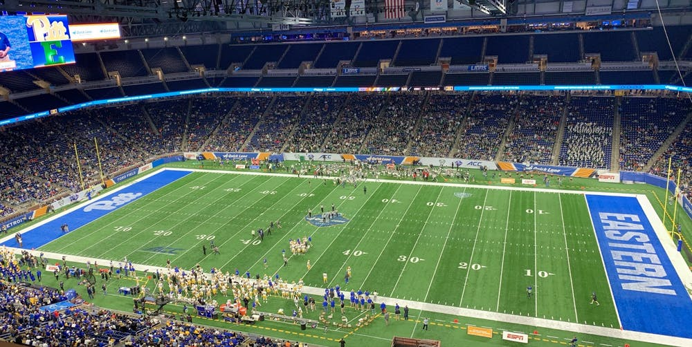 Pittsburgh defeats EMU in Quick Lane Bowl