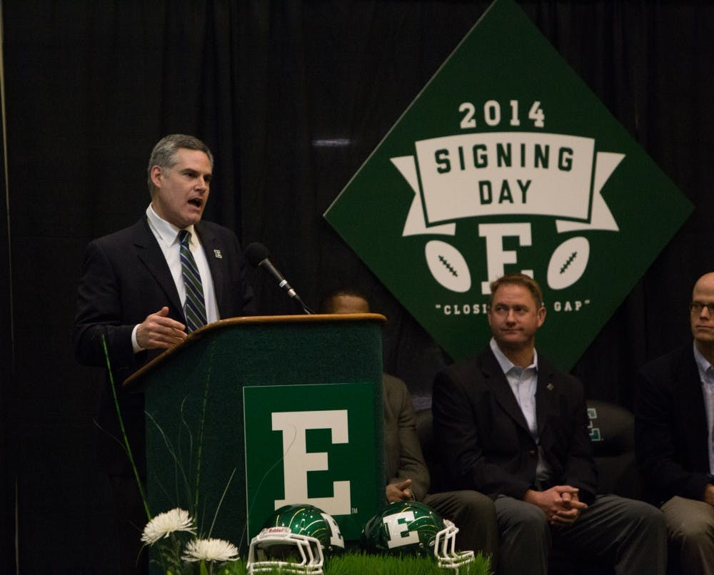 National Signing Day event held at Convocation Center