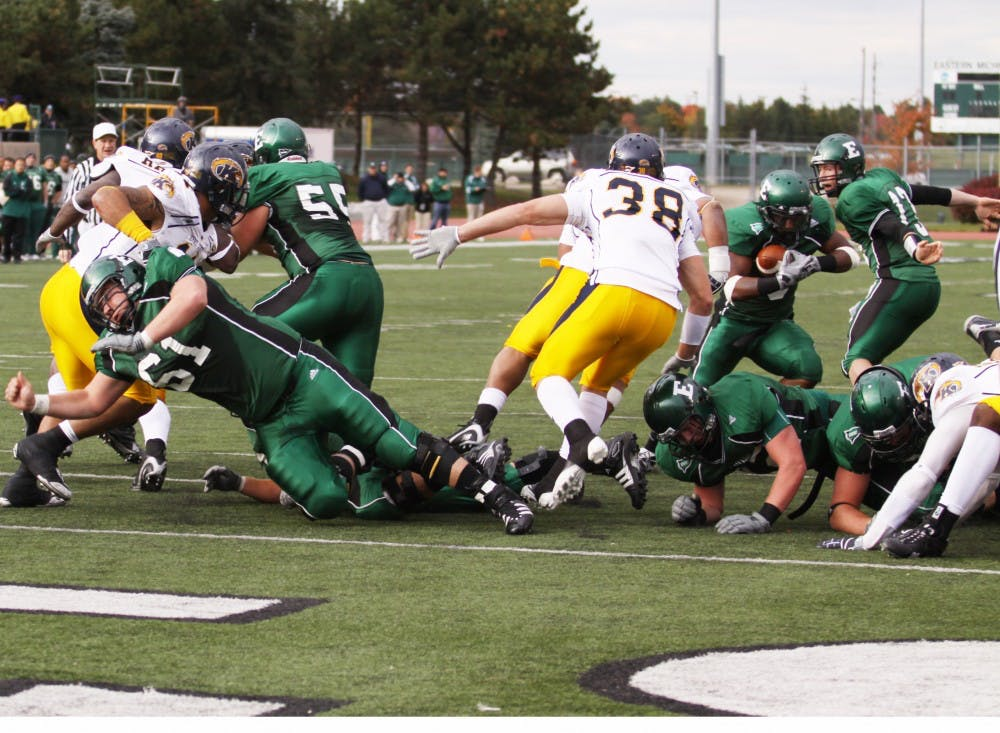 Football team on track for better season in fall