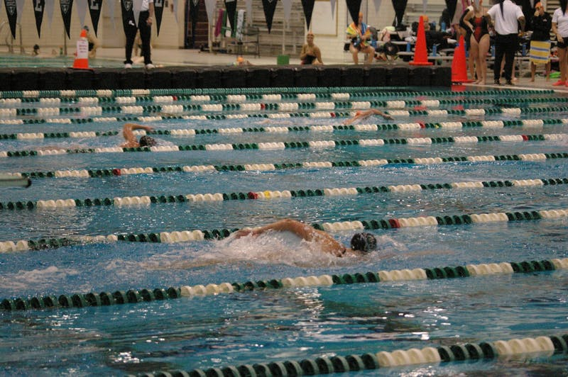 Eagles defeat BGSU in swimming and diving