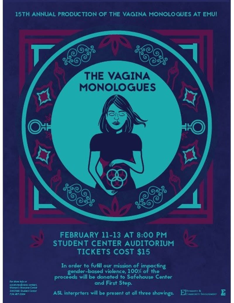 The Vagina Monologues Flier