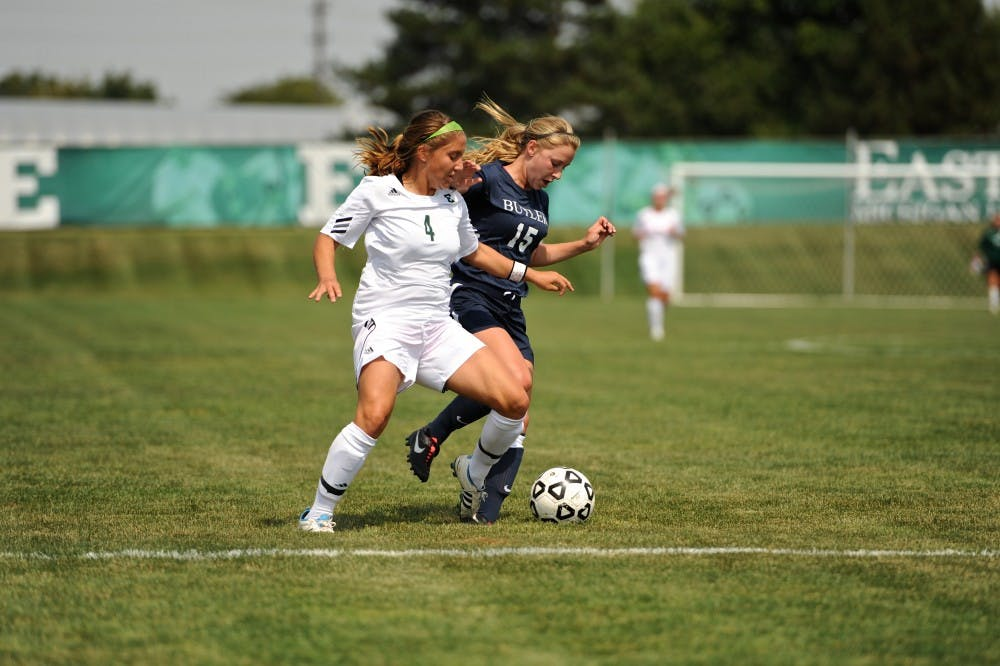 Women's soccer gets first win of the season from Butler