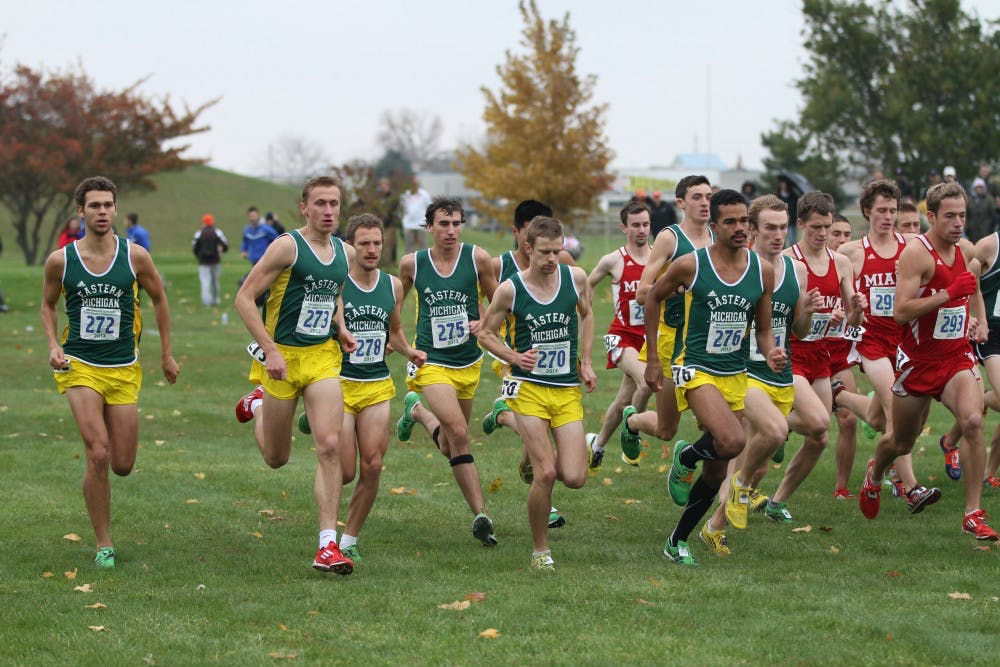 Men's Cross-Country team earns its fourth consecutive MAC title