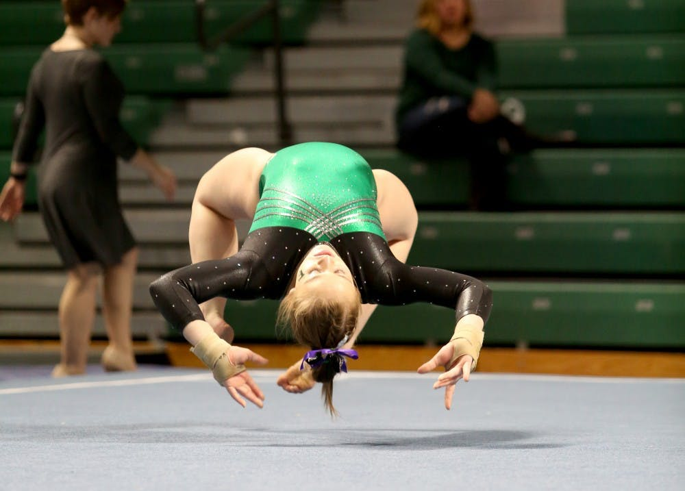 EMU gymnastics loses its home opener