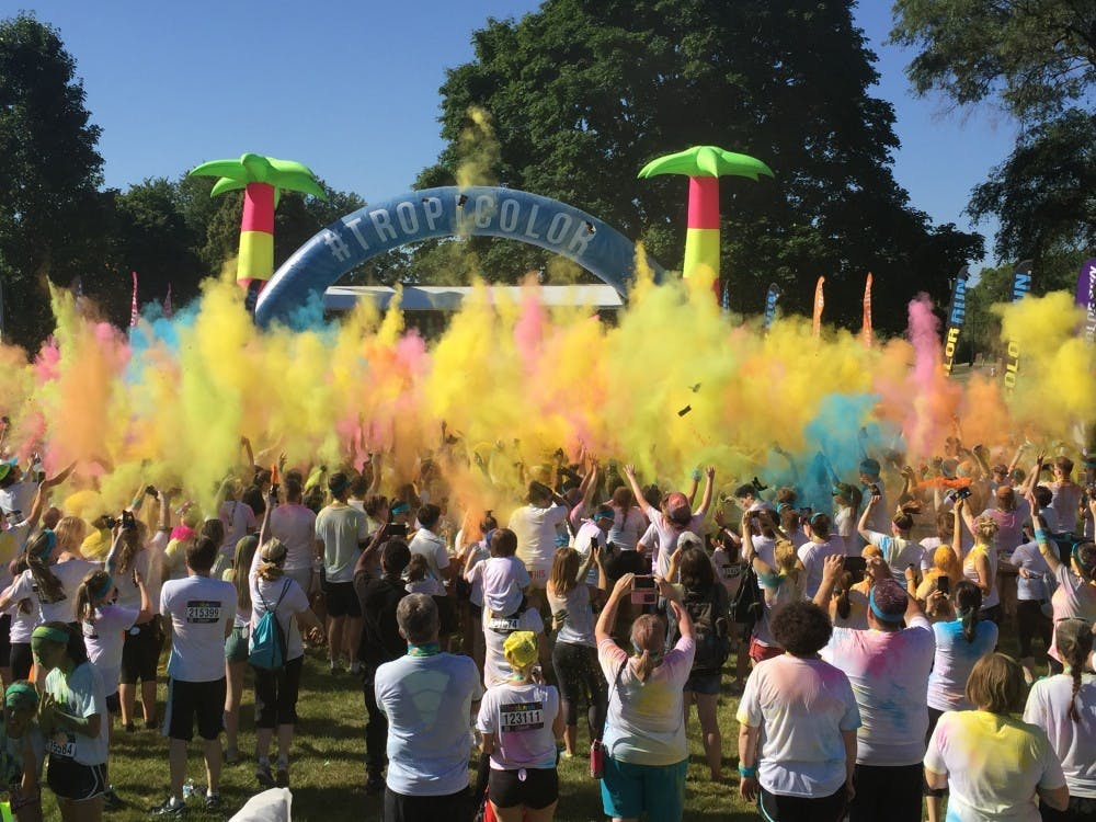 Color Run comes to Ypsilanti