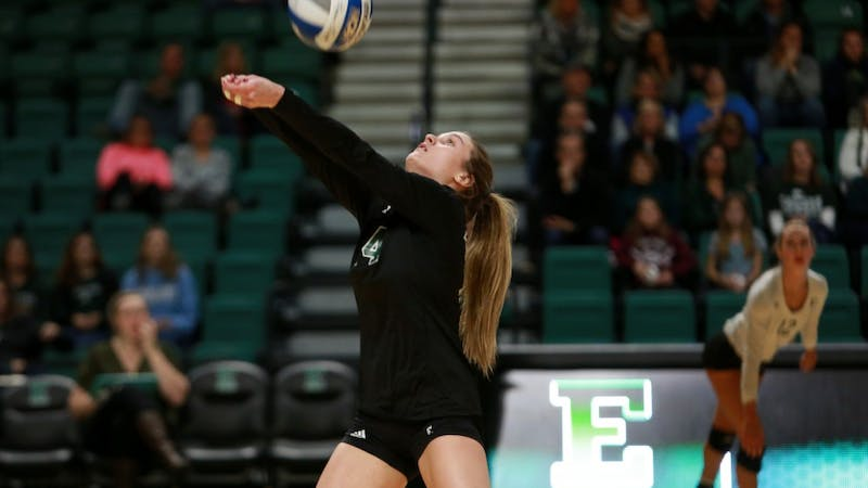 The Eastern Michigan University's women's volleyball team qualified for the MAC tournament following a streak of four wins straight that started on senior weekend against Western Michigan and Northern Illinois.