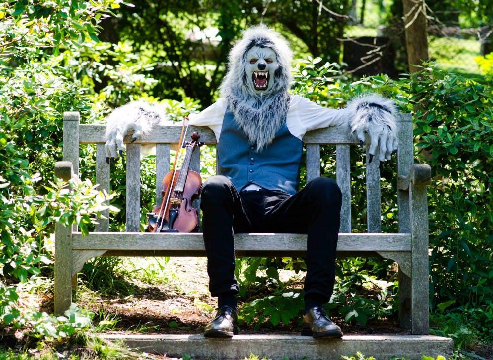 Violin Monster celebrates his 493 birthday