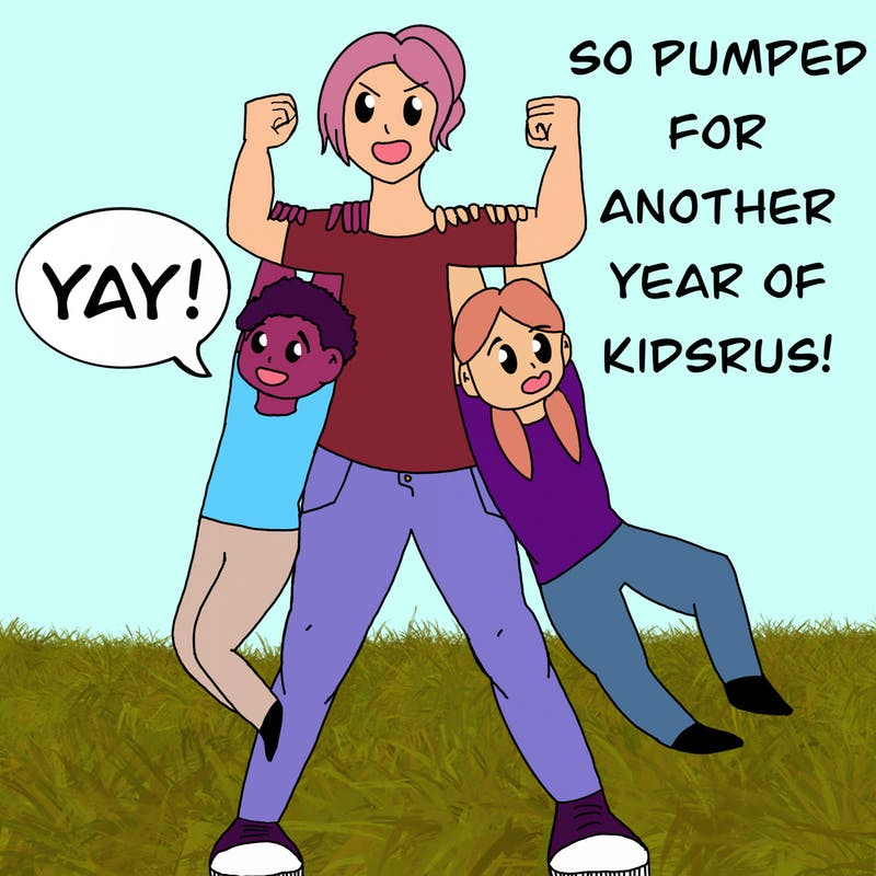 The creator of Kids R' Us, Isabella Kalakailo, is pumped for another great year of her series!