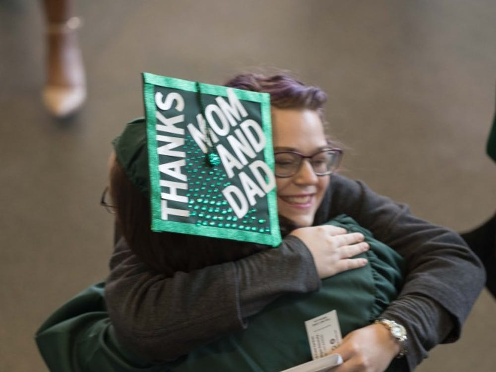 EMU Graduates Celebrate at Winter Commencement