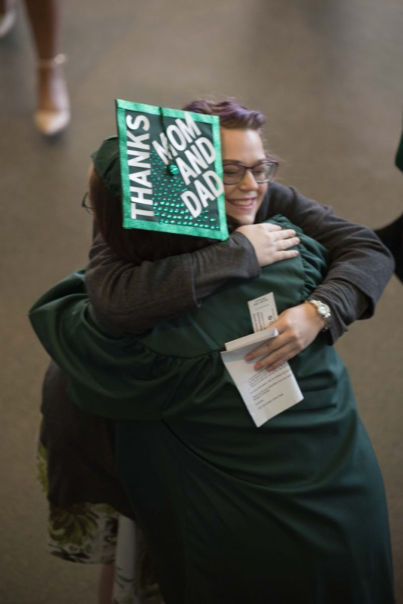 EMU Graduates Celebrate at Winter Commencement