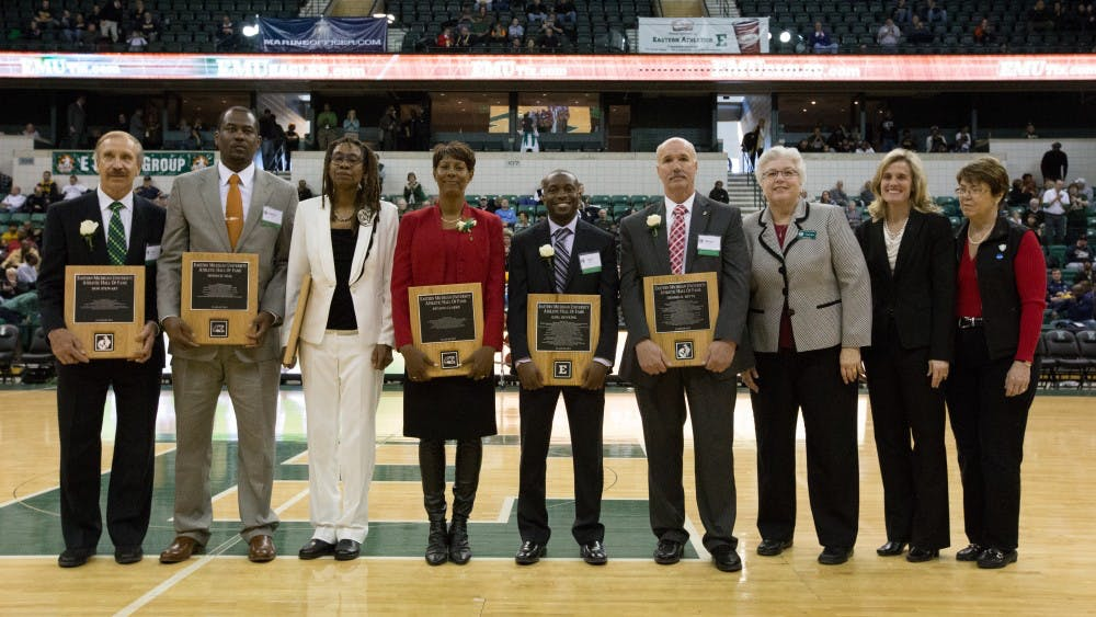 7 inducted into E-Club Hall of Fame