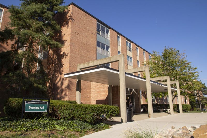 Downing Hall at Eastern Michigan University