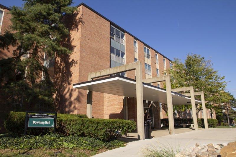 Downing Hall at Eastern Michigan University