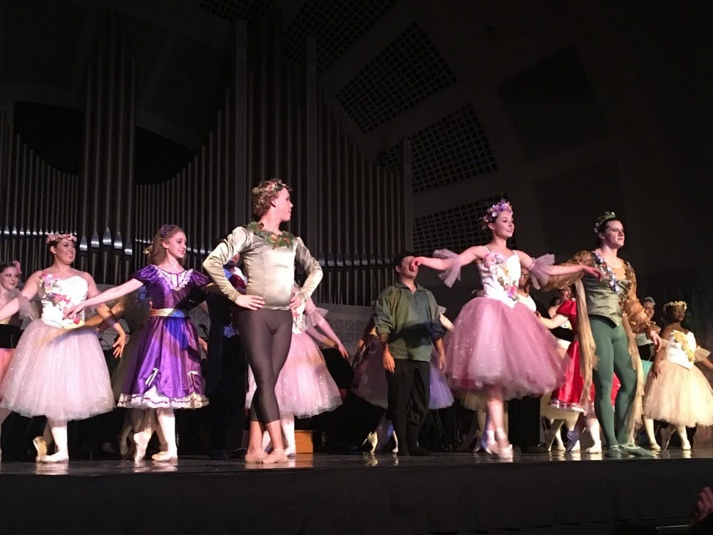 EMU ballet A Midsummer Night's Dream