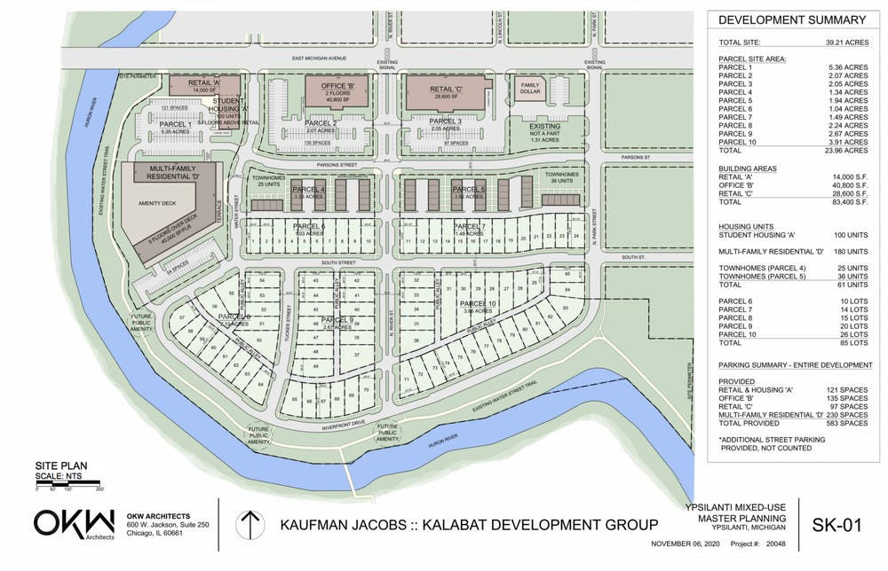 Affordability concerns arise over new Water Street development plan during Ypsilanti City Council meeting