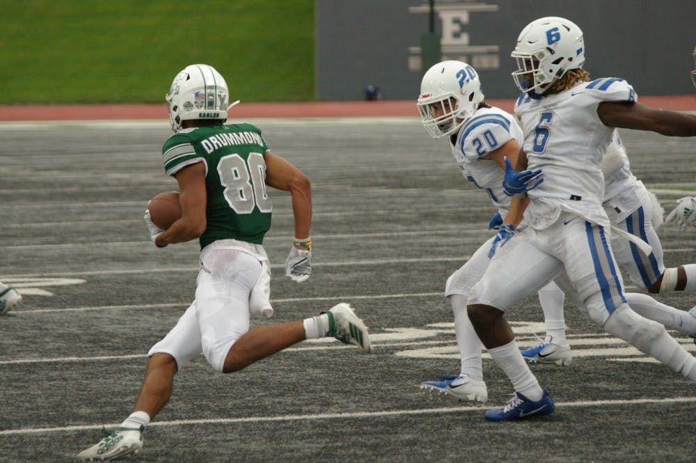 EMU wide receiver stays humble despite a strong start to his 2019 campaign