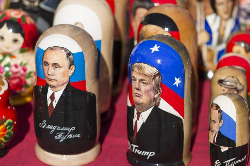 """Came across these kitschy babushka made for the Trump visit to Russia."" Photo by Jørgen Håland on Unsplash."