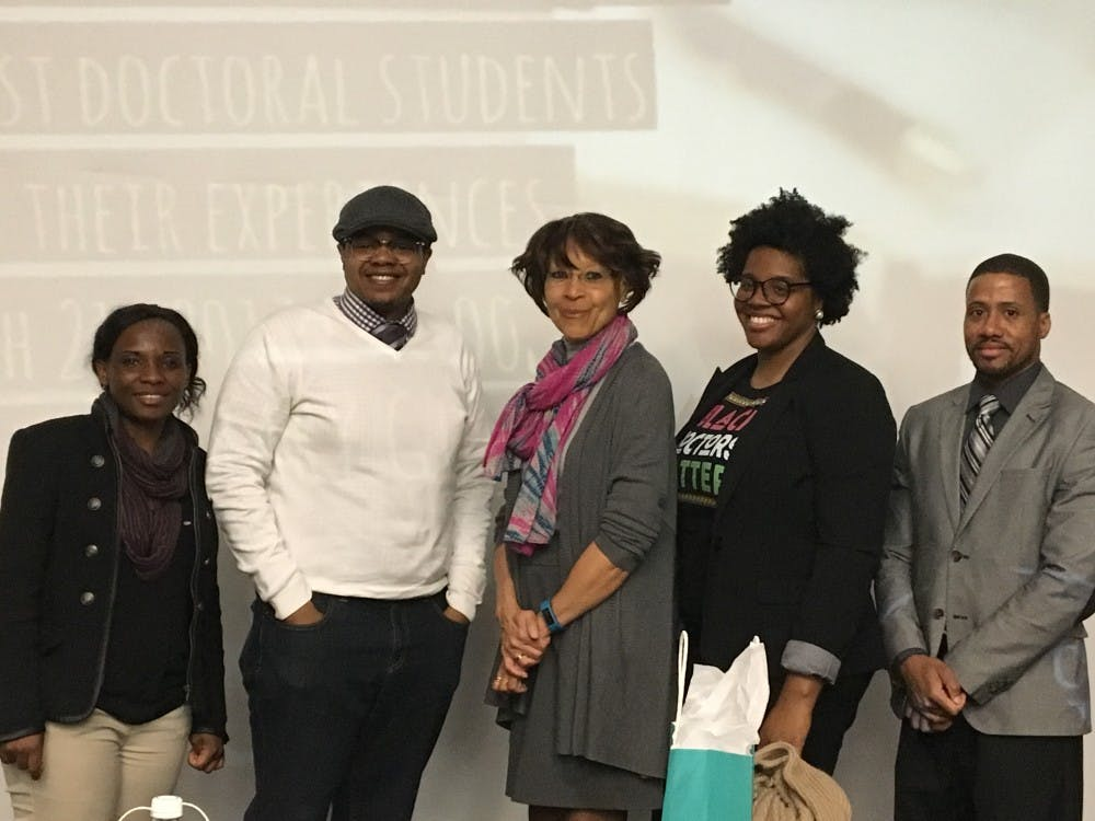 'The Doctor Is In' panel discussion provides insight on the doctoral pursuits of African-Americans