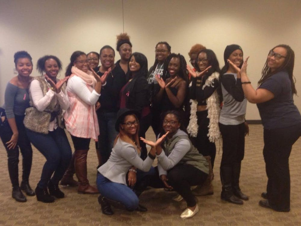 """Eastern Michigan University's You Beautiful Black Woman (YBBW) student group presented, """"For the Love of Boobies."""" on Tuesday, Oct. 18 in the Student Center."""