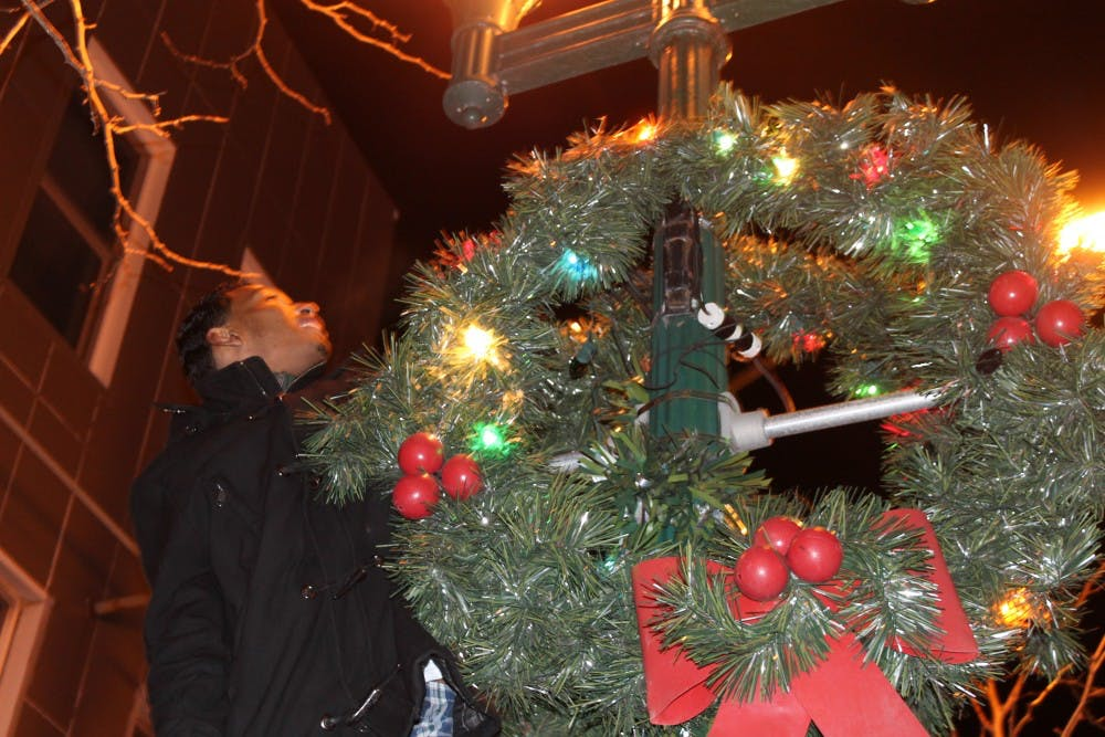 Ypsi gets a holiday makeover