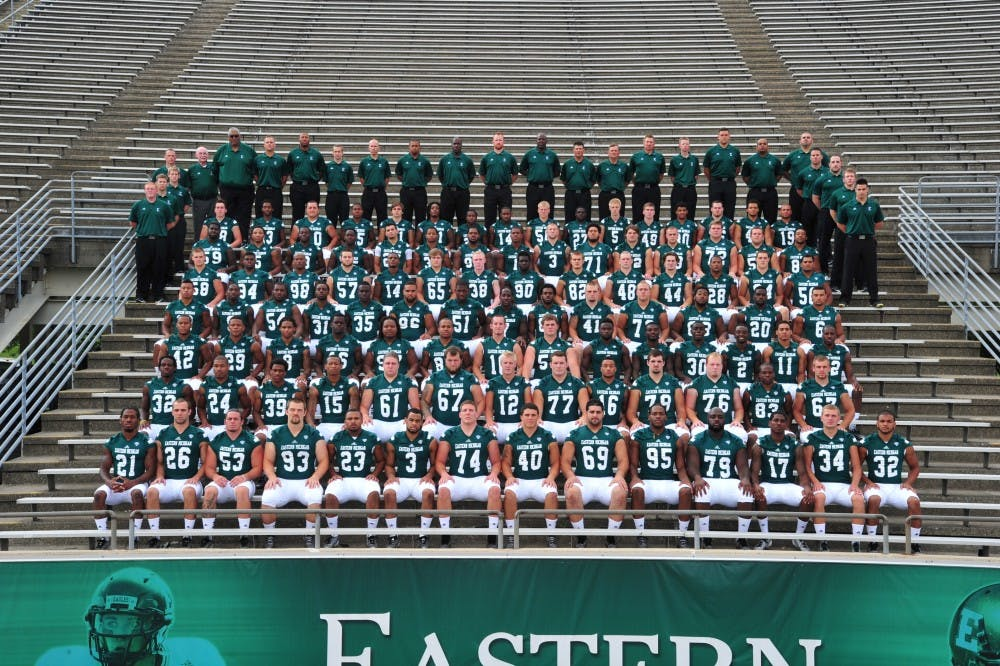 EMU football team holds its Media Day over the weekend