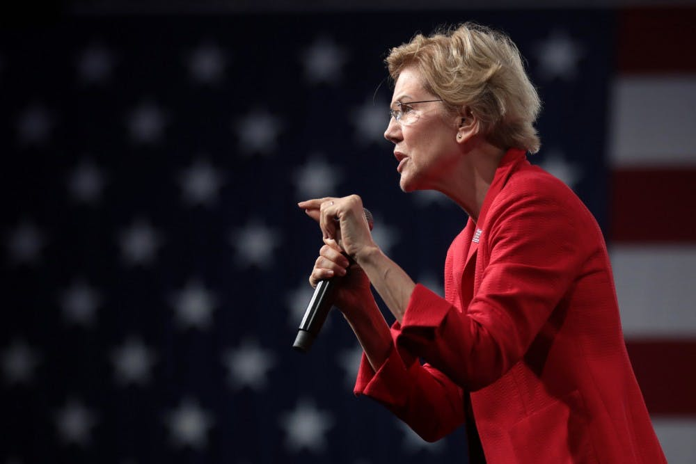 Opinion: Elizabeth Warren is showing her stripes and taking bruises as the potential new front runner.