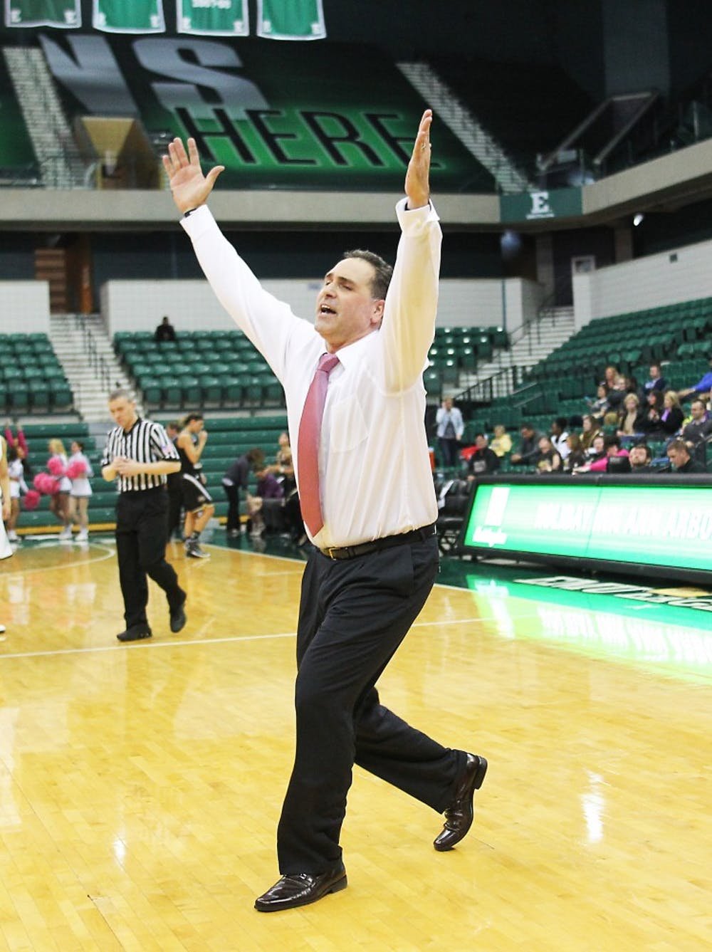 Eagles win double-overtime thriller over WMU