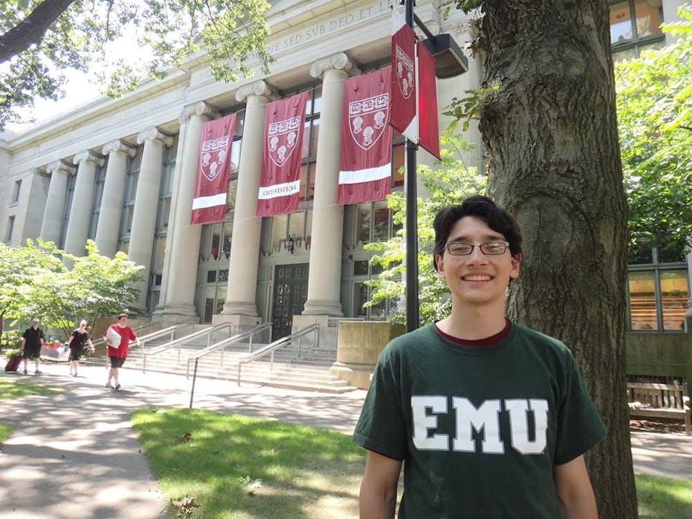 EMU graduate continues to find success at Ivy League school