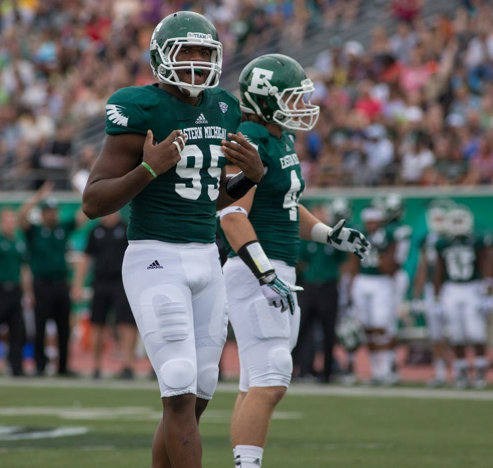 Former EMU defensive end signs contract with Detroit Lions