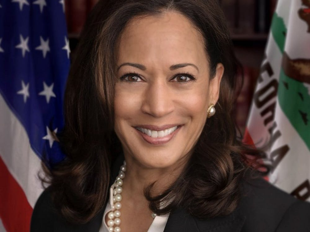 Senator Harris' official Senate portrait.