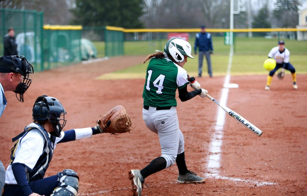 EMU softball fails to record a hit