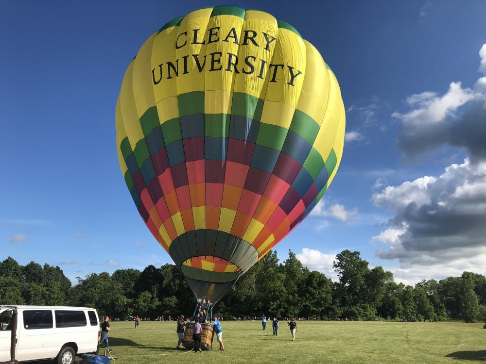 Michigan Challenge Hot Air Balloons