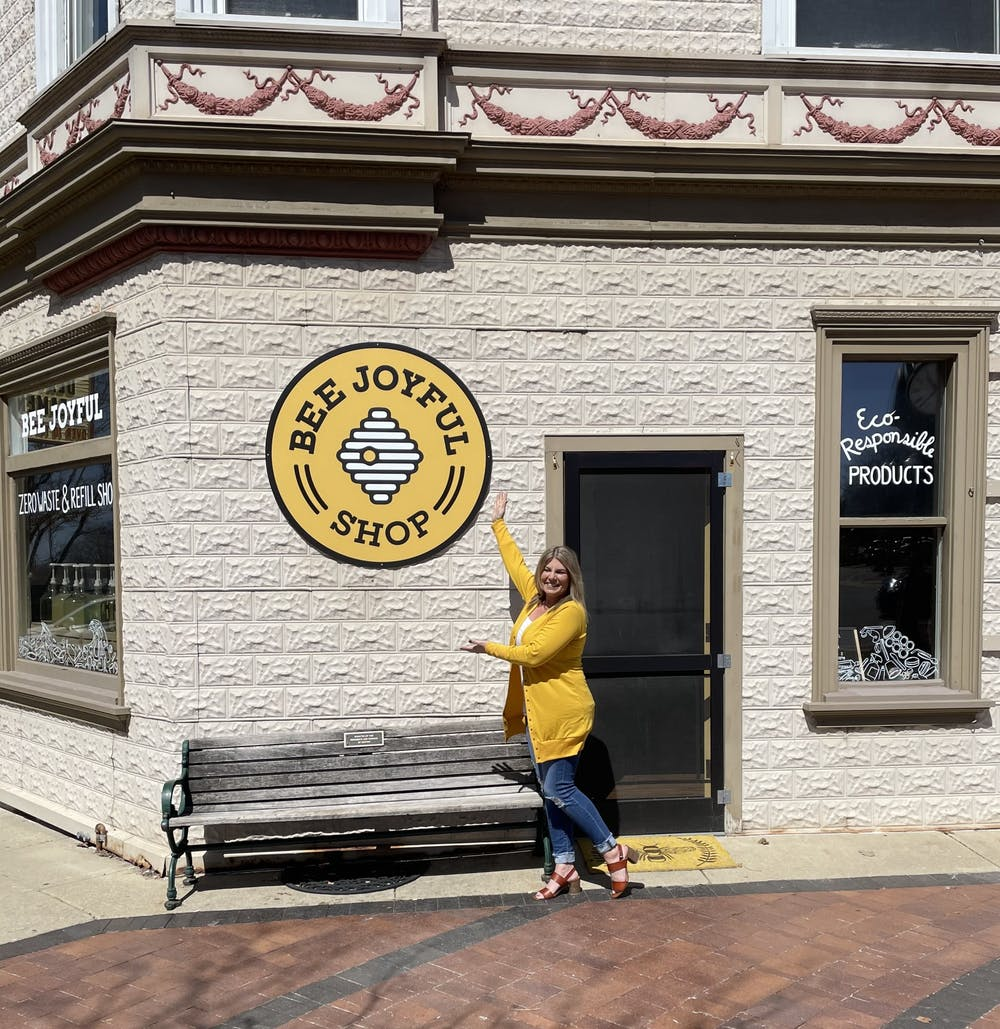 New environmentally friendly and zero-waste shop opens in Dexter, Michigan