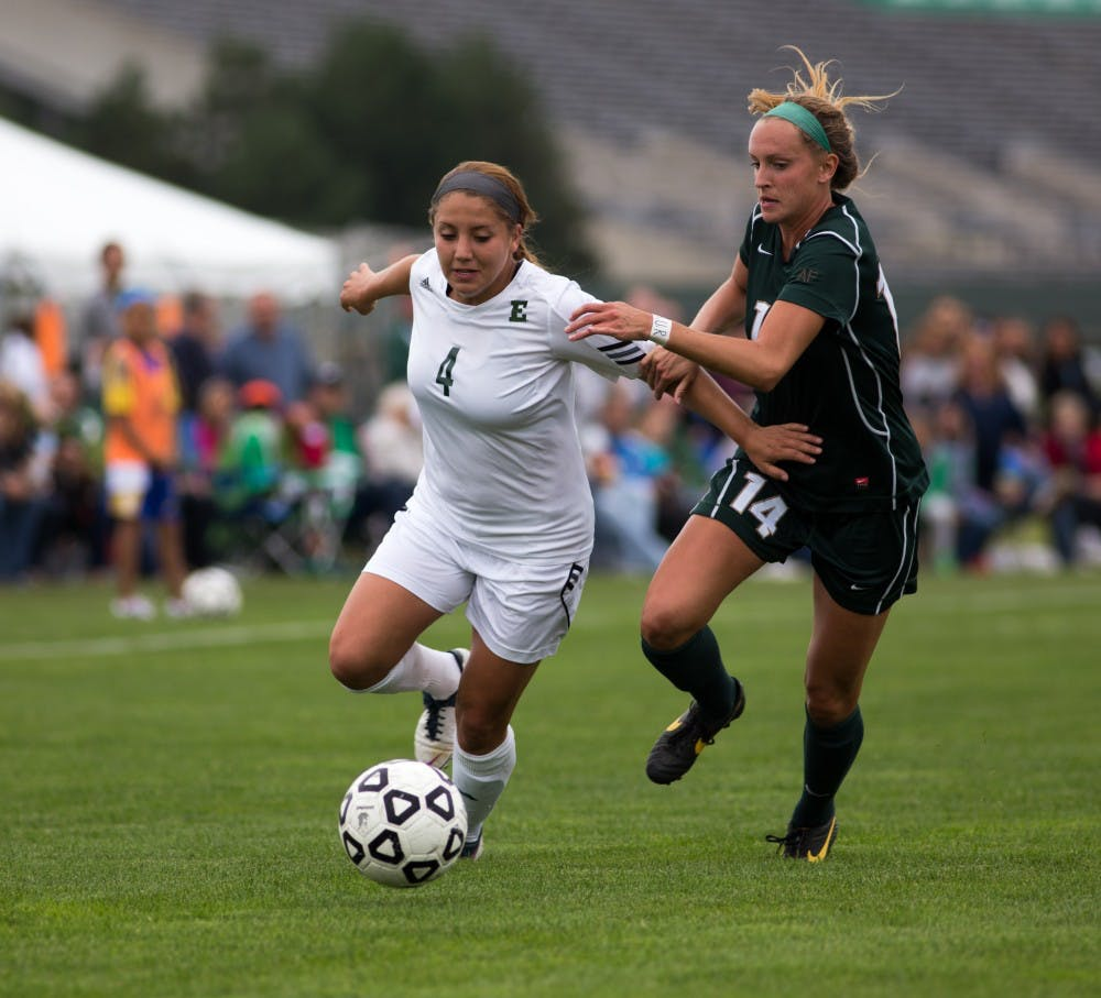 Women's soccer team falls to Michigan State