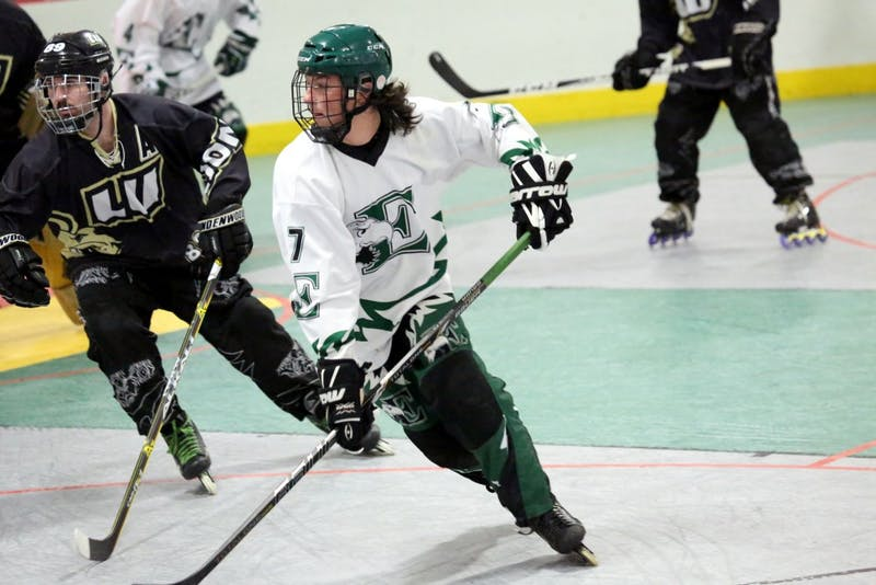 The EMU roller hockey team is looking for new members.